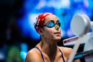 Linnea Mack Scratches 100 Back / 50 free On Night 4 Of Indy Pro Swim Series