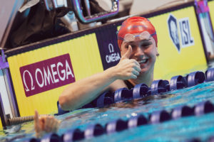 Swimming's Top Ten Tweets: Thumbs Up For Breaking A World Record
