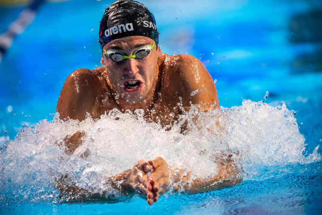 Sakci Snares 100 Breast Victory At Turkish Short Course Championships