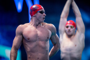 Ben Proud Unleashes 18.1 SCM 50 Free (With Fins) From A Push At ENS Practice