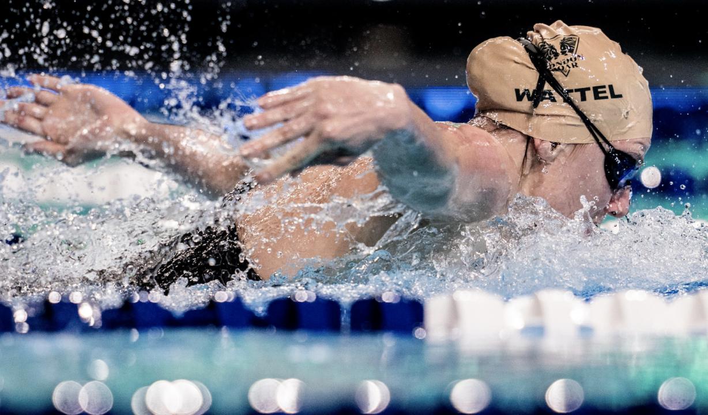 Wattel pone el broche de oro en Francia con mínima olímpica en 100 mariposa