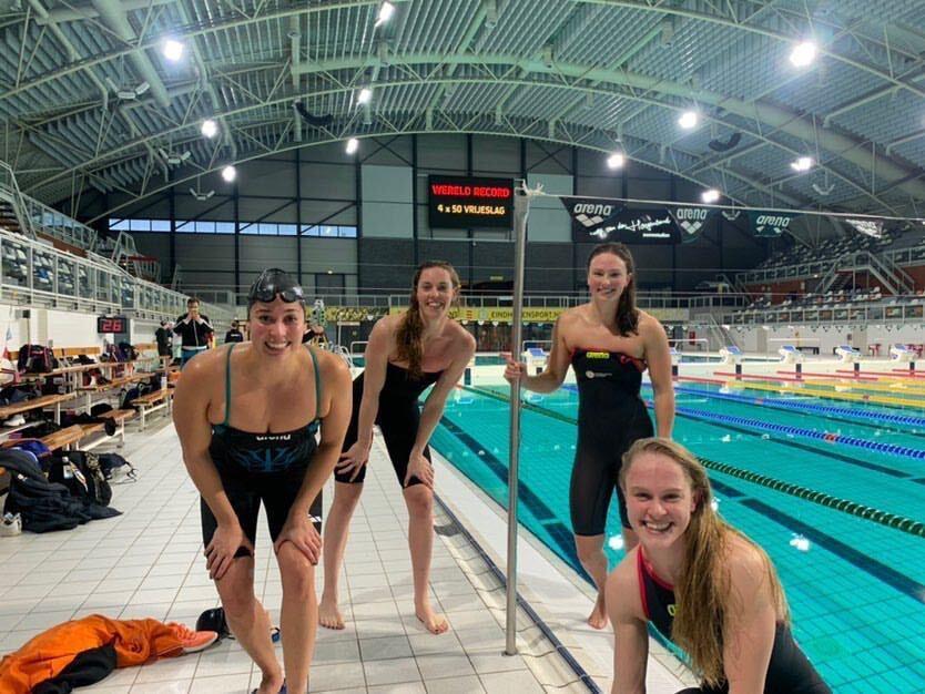 Dutch Women Destroy SCM 200 Free Relay World Record In 1:32.50 (Video)