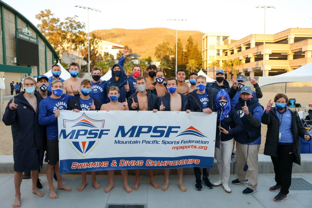 BYU Wins Men's MPSF Championship Title for the First Time Since 2016