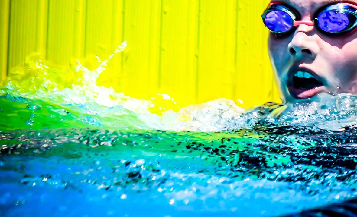Claire Curzan Edges Torri Huske in 100m Free Prelims, 55.2 to 55.5, in Cary