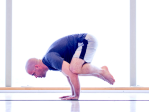 Yoga Poses for Swimmers - Crow