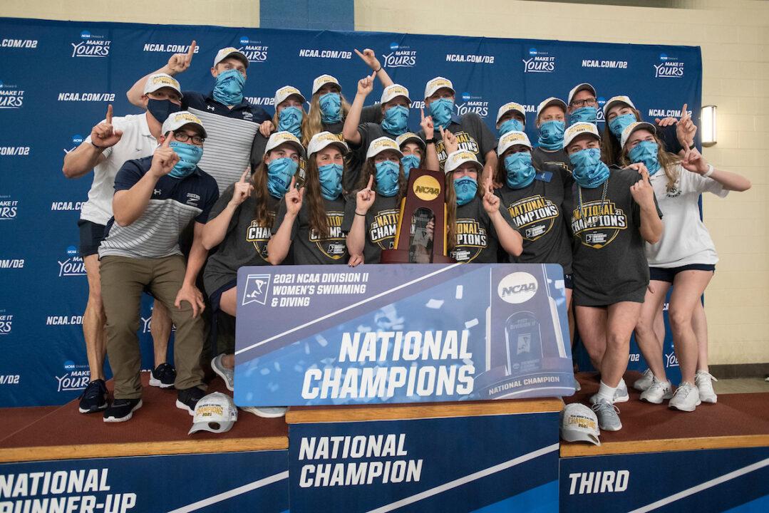 2021 NCAA Division II Women's Championships: Scoring Breakdown