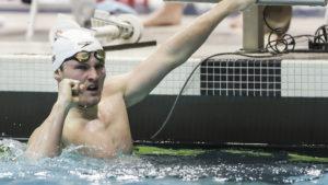 Indiana's Brendan Burns Name 2021 Big Ten Swimmer Of The Championships