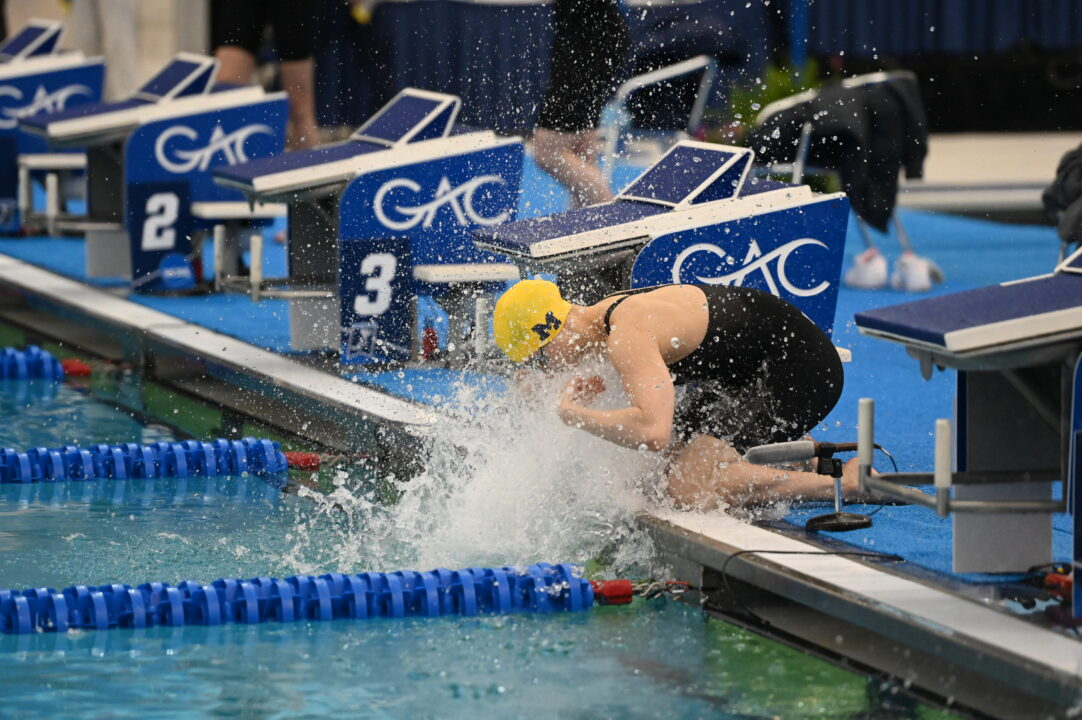 Maggie MacNeil Vaults To #3 All-Time, Smashes B1G Record In 100 Freestyle