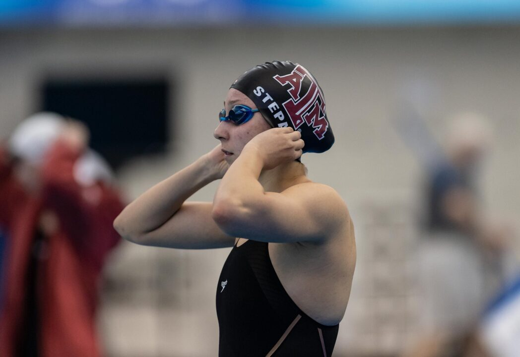 Chloe Stepanek Leads Texas A&M Past Houston in Tanica Jamison's First Meet