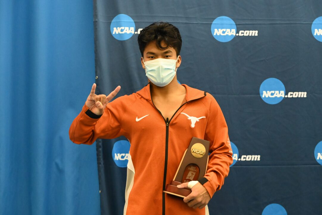NCAA Champion Diver Jordan Windle Will Return to Texas for 5th Year at Texas