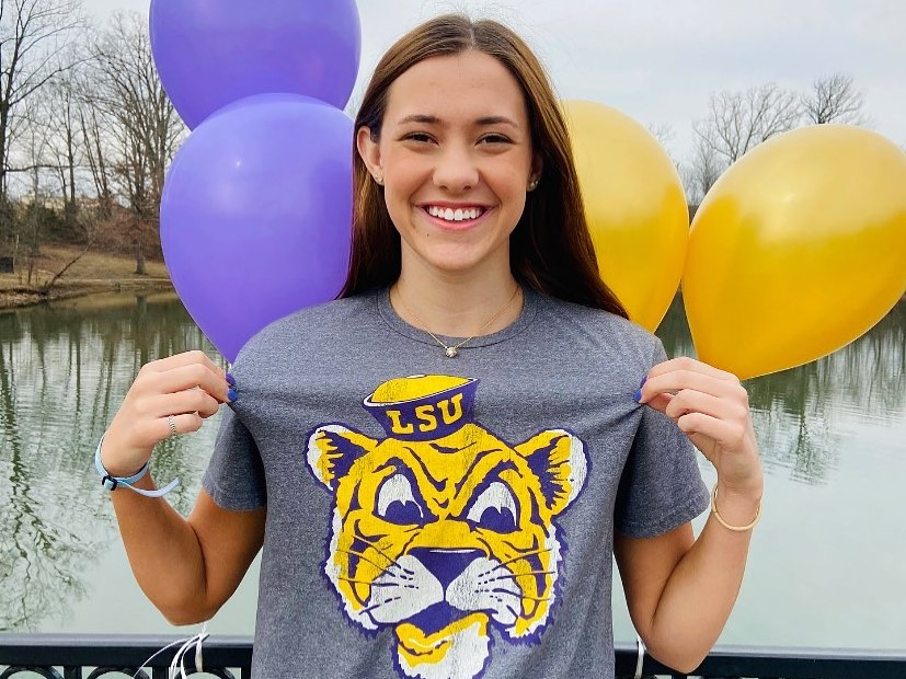 LSU Tigers Snag Verbal from Kentucky HS State Finalist Lily Jones (2022)