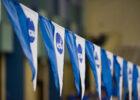 NCAA D2 flag stock