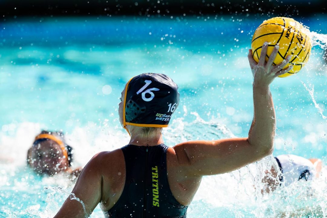 UC San Diego Women's Water Polo Upsets Hawaii To Open Conference Action