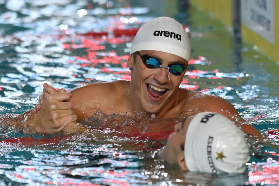 Martinenghi Hits 58.29 100 Breast ITA Record, Ties Shymanovich For #4 All-Time