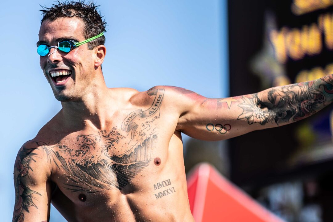 Bruno Fratus on Trying to Taper After Finding Out OLY Qualifier 2 Weeks Prior