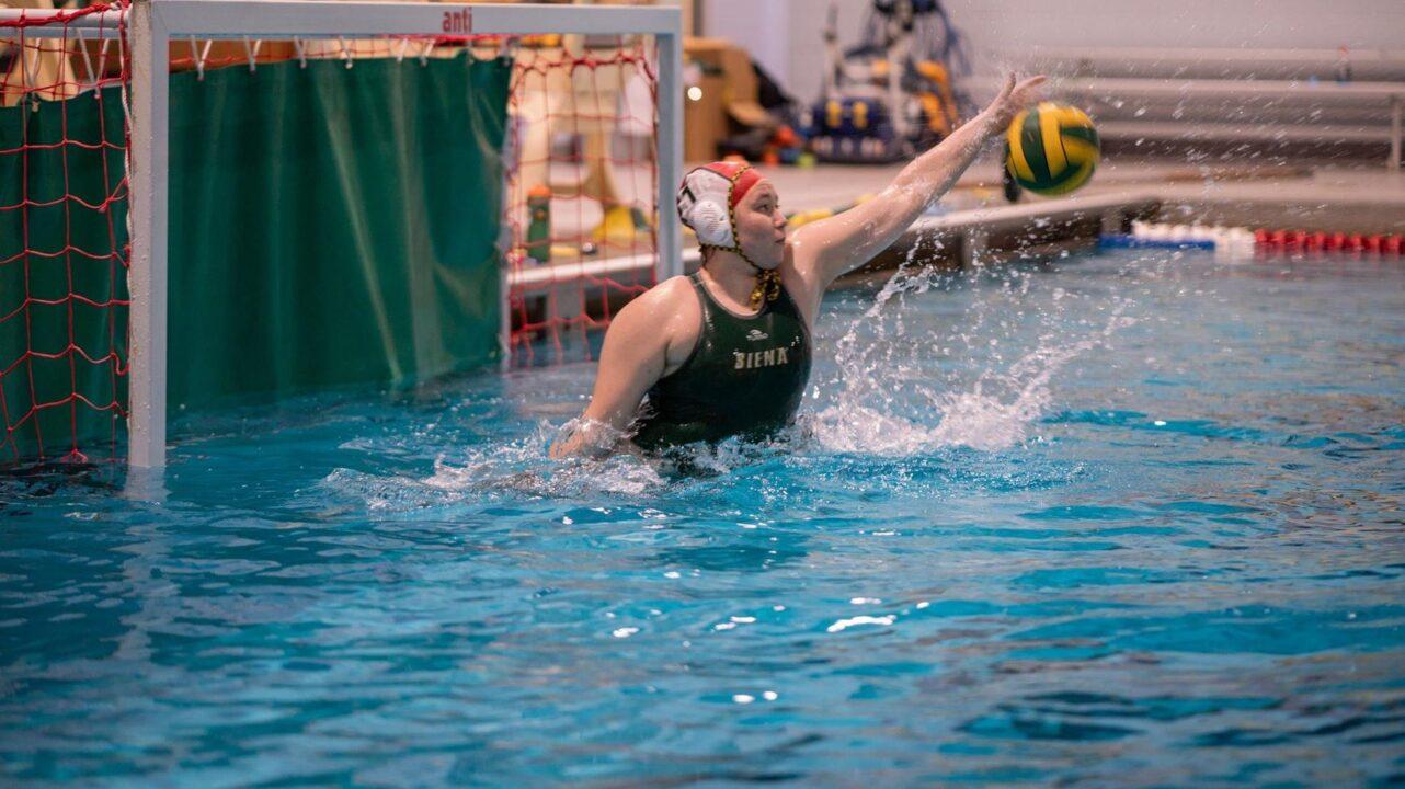 Siena Water Polo's Mossakowski Earns Second MAAC Weekly Honor