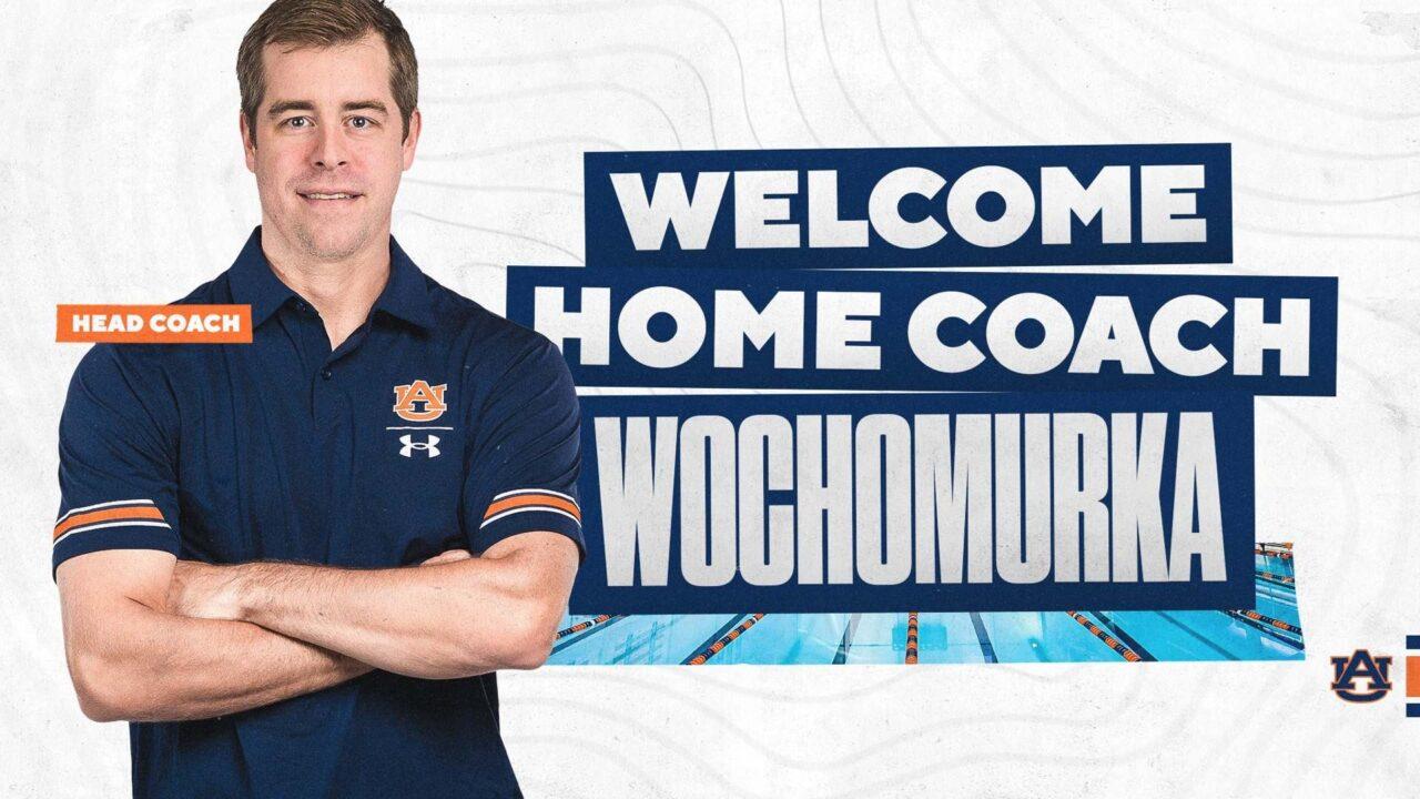 Auburn Hires Houston's Ryan Wochomurka As New Head Coach