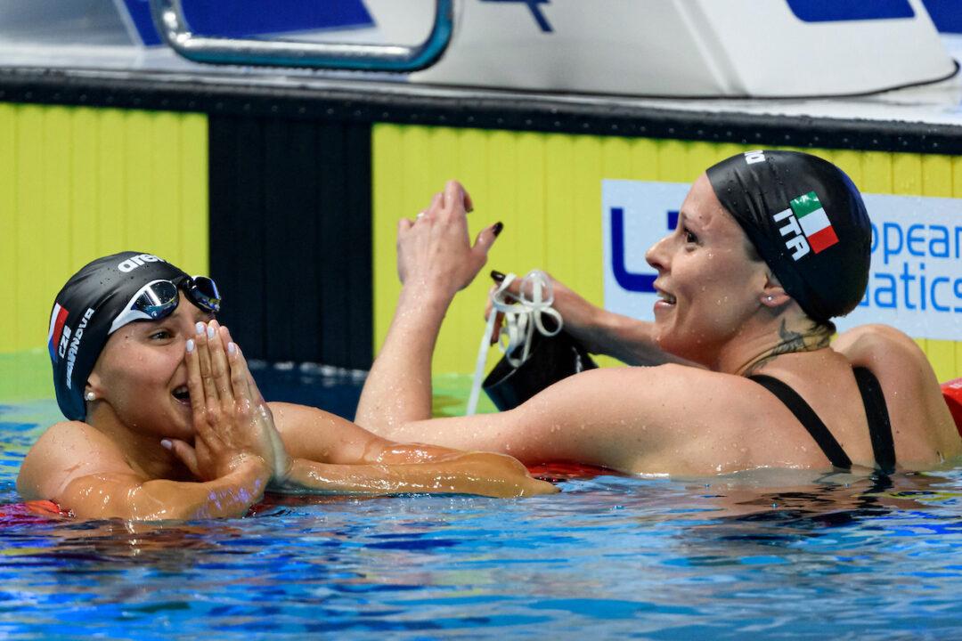 Barbora Seemanova bate el récord checo en 200 libre rumbo al oro europeo