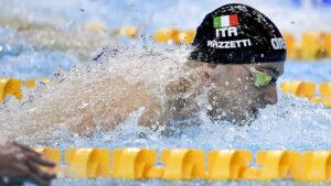 Alberto Razzetti Sfiora Il Record Italiano Di Luca Marin Nei 400 Misti