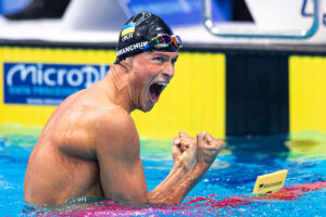 Romanchuk Leads Record-Filled Olympic Debut In Men's 800 Freestyle