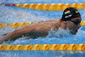 """Milak """"Almost Threw Up"""" in the Call Room Before 1:51 200 Butterfly"""