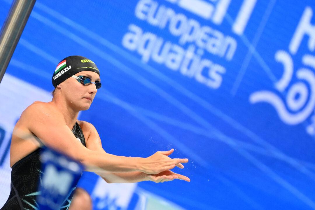 Budapest Europei Di Nuoto 2021: Recap Live E Risultati Batterie Day 3