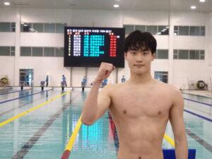 Olimpiadi: Hwang Sun-woo Record Del Mondo Jr 200 Stile Libero