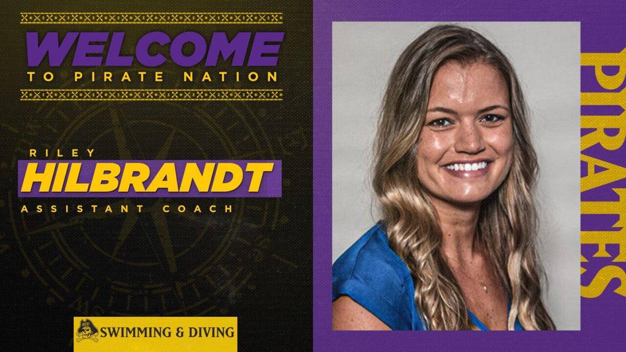 East Carolina Announces Riley Hillbrandt As New Assistant Swimming Coach