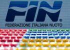 FIN Federazione Italiana Nuoto stock