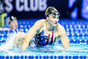 "Annie Lazor on Ideal Performance: ""I'm saving that swim for Tokyo"""