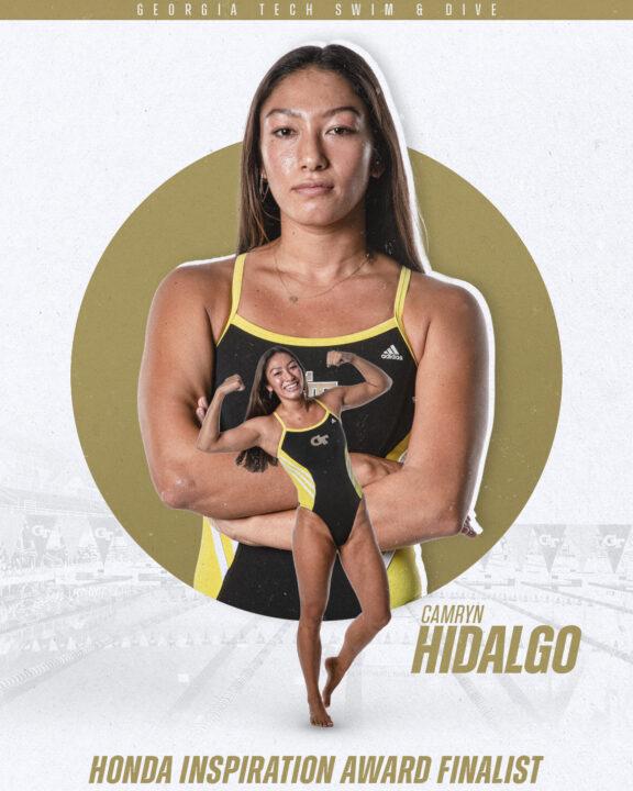 Georgia Tech's Camryn Hidalgo Named Honda Inspiration Award Finalist
