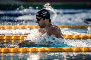 Olimpiadi Arno Kamminga Record Olandese 100 Rana 57.80