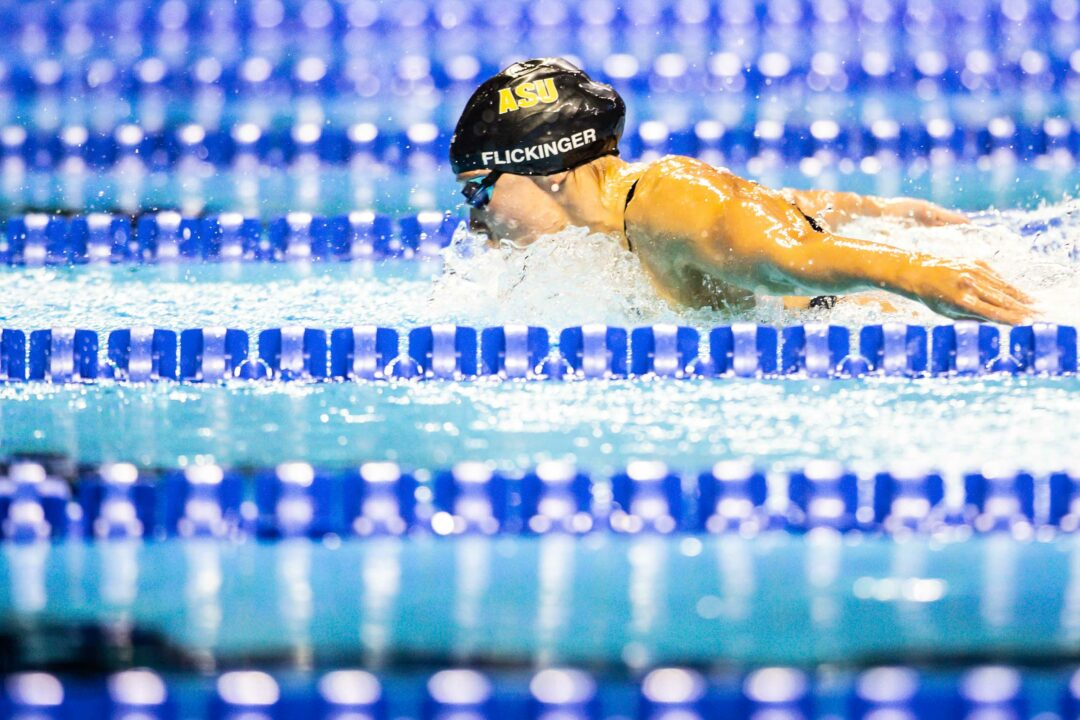 Hali Flickinger Takes 200 Fly Title, Breaks U.S. Open Record with 2:05.85