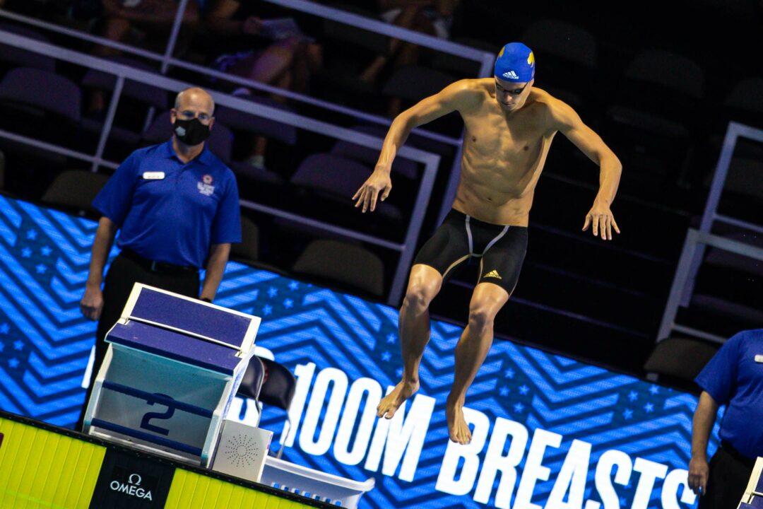 Defending U.S. Olympic Trials Champion Josh Prenot Misses 200 Breast Semifinal