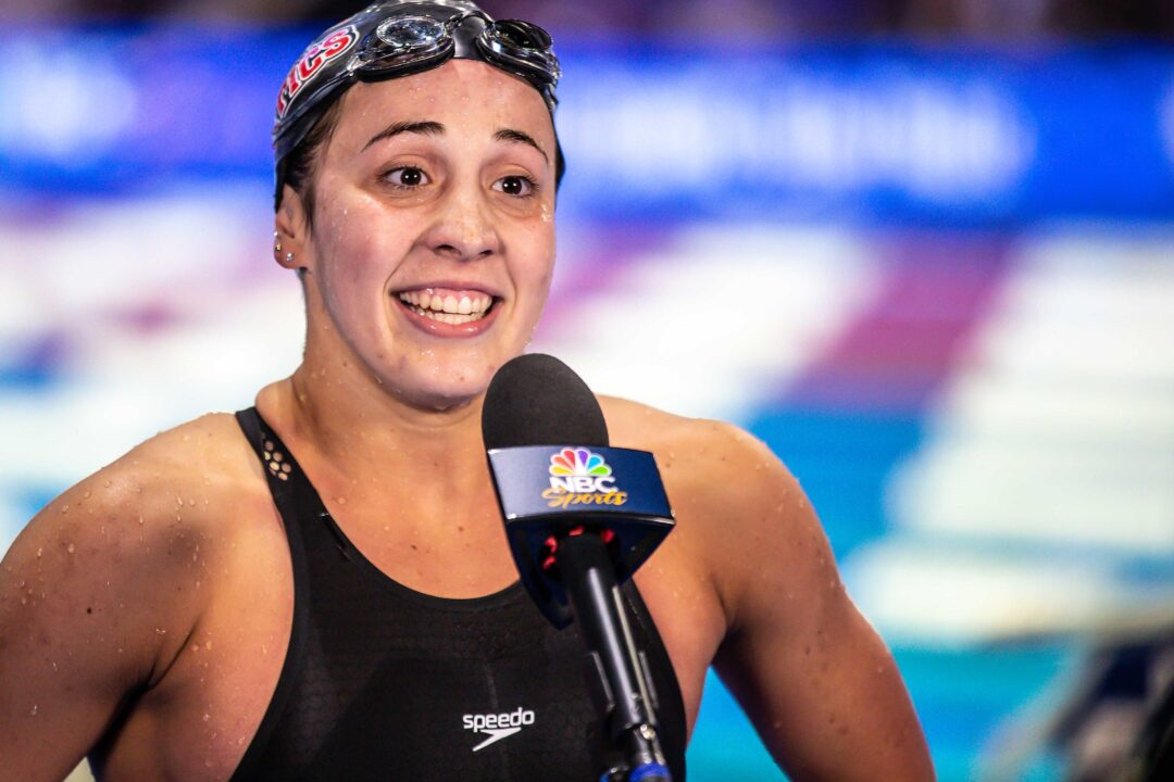 Kate McCarville on Dropping Nearly 7 Seconds from Prelims to Win the 400 IM