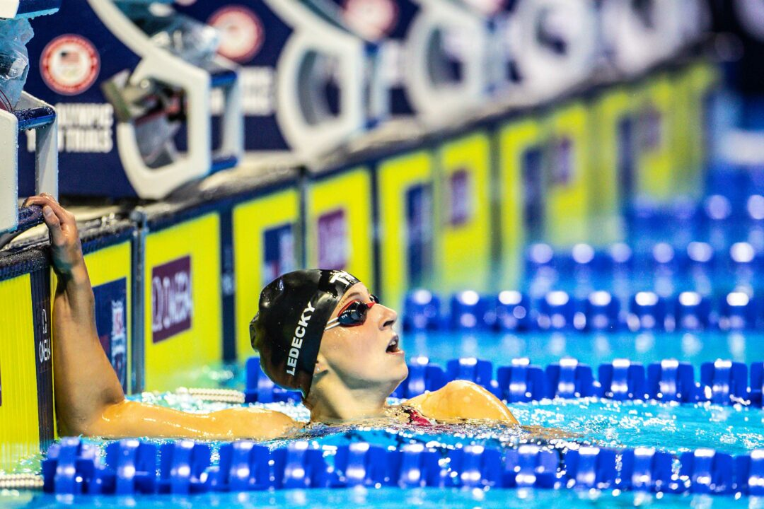 Day 2 Prelims: Watch W 1BK OLY Record Get Broken Thrice and Ledecky's 4FR Debut