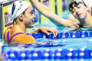 Linnea Mack and Vlad Morozov Kick Off Swim Meet of Champions With 100 Free