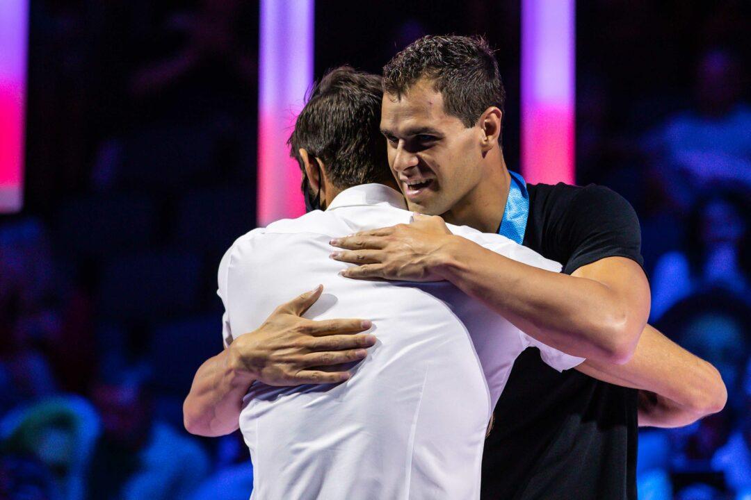 Olympians Michael Andrew vs Michael Phelps in The 200 IM, Swim Data Dive