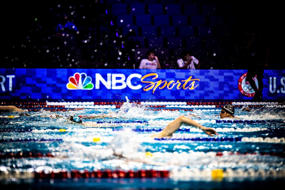 2021 U.S. Olympic Swimming Trials Averages 2.7 Million Nightly Viewers