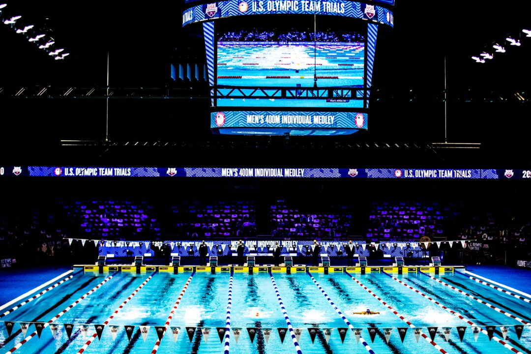 There Are Plans For A Men's 400 Free Time Trial