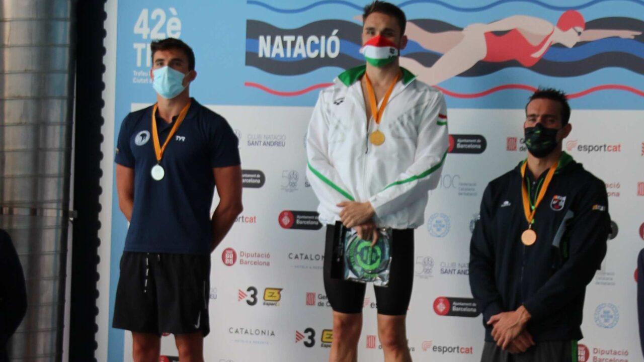 Sergio de Celis, nuevo récord de España en 100 libre con 49.08