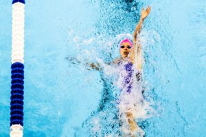 Regan Smith Hits The 4th 100 Back Olympic Record Of The Games With 57.86 Semi