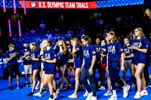 The Largest 2021 Olympic Swimming Rosters