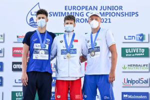 Jovan Lekic and Lana Pudar Break Bosnian National Records at Euro Juniors