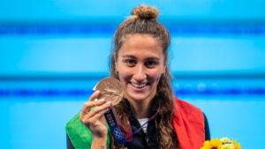 """Simona Quadarella Bronzo Olimpico: """"Una Medaglia Dal Valore Immenso"""""""
