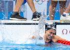 QUADARELLA Simona ITA Celebrating Bronze Medal 800m Freestyle Women Final Swimming, Nuoto Tokyo2020 Olympic Games Tokyo Aquatics Centre 21731 Photo Giorgio Scala / Deepbluemedia / Insidefoto