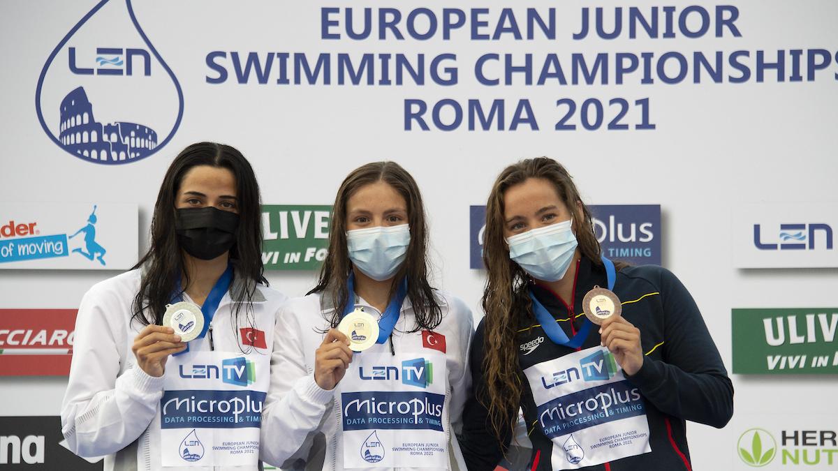 Merve Tuncel Record Europeo Jr 1500 Stile E Prima Volta Sub 16′