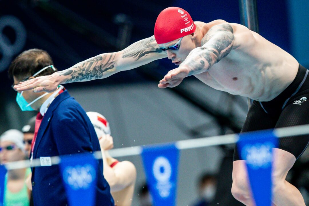 Great Britain Scorches European Record En Route To Men's Medley Relay Silver