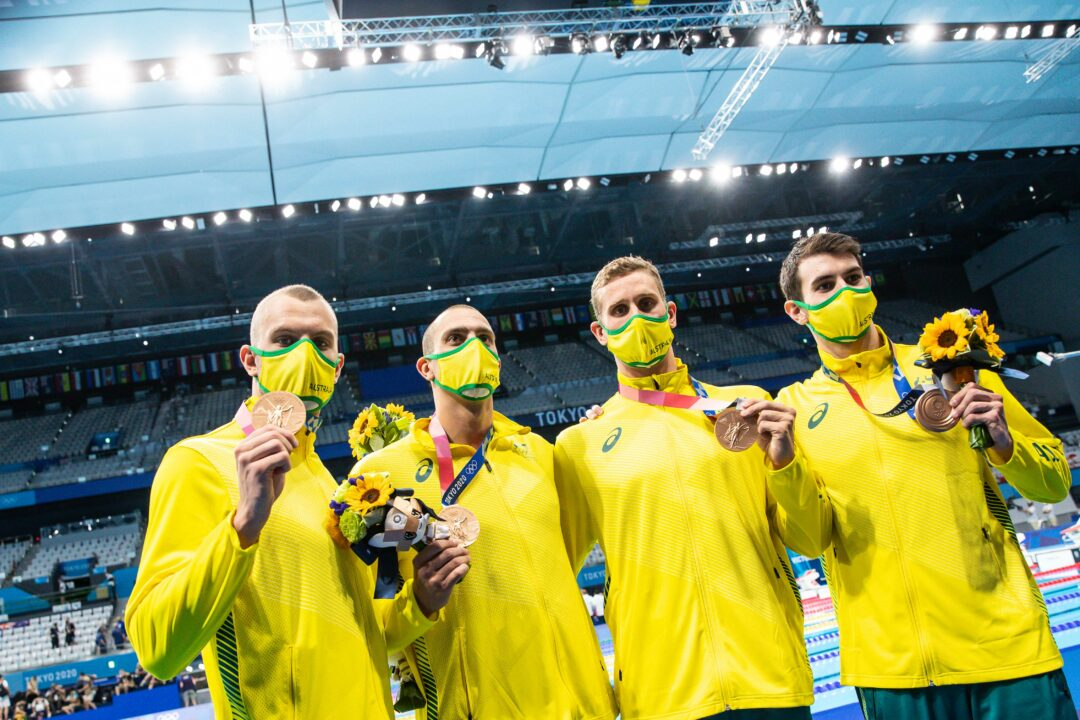 Why Was Australia's -0.03 Relay Start Not A DQ? A Rules Deep Dive
