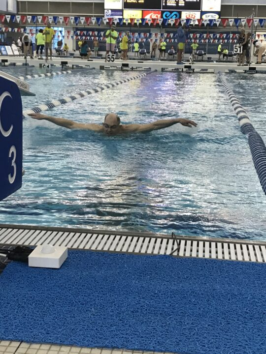 """USMS Nationals: Minnesota Masters' Bill Durell Swims """"Kind of Nutty"""" 1650 Fly"""